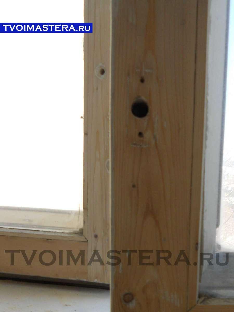 Утепляем и реставрируем старые деревянные рамы